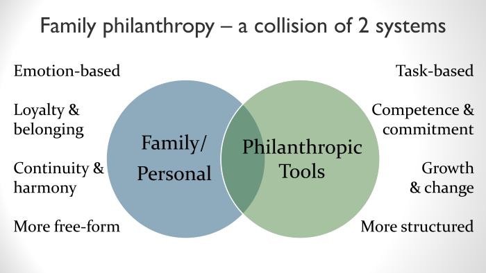 Family philanthropy 2 systems